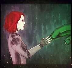 Avengers: Age of Ultron by maryallen138.deviantart.com on @DeviantArt #brutasha #hulkwidow #brucenat