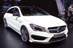 2015 Mercedes-Benz CLA45 AMG Shooting Brake (Geneva International Motor Show 2015) #Geneva_2015 #Mercedes-Benz #Mercedes_Benz_CLA45 #AMG