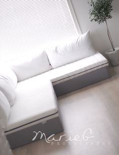 DIY sectional couch guest bed Futon mattress Sectional sofas