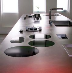 ABK i-Cooking inductie en gas kookplaat met wokbrander Modern Kitchen Design, Interior Design Kitchen, Kitchen Furniture, Furniture Design, Furniture Projects, Wood Projects, Diy Furniture, New Kitchen, Kitchen Decor
