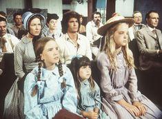 Mary (Melissa Sue Anderson, vorne r.) hat von Bubba ein Veilchen verpasst be...