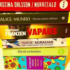 Huomenna aukeaa Järvenpään kirjasto tauon jälkeen. Nyt loppuu pokkareitten ahmiminen. Tässä kuukauden luetut. #kulttuuri #kirjat #lukutoukka #järvenpää #kirjasto