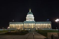 salt lake city at night - Search Yahoo Image Search Results