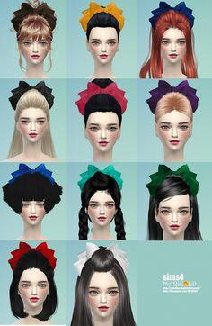 Big head ribbon at Marigold via Sims 4 Updates