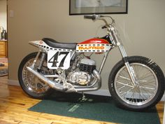 1975 Bultaco Astro 250 flat tracker....cool as fuck!