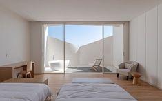 China Architecture, Architecture Awards, Room Interior, Interior Design, Public Bathrooms, Architect Design, Design Awards, White Walls, Yards