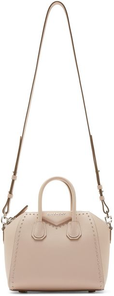 f53c7ec6d290 Givenchy Pink Studded Mini Antigona Bag