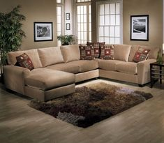 L Shaped Sofa With Chaise Lounge