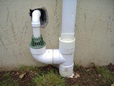 Sump pump drainage ideas new home pinterest drainage for Sump pump yard drainage systems
