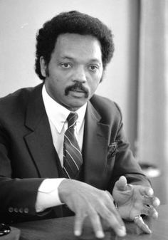 The Reverend Jesse Louis Jackson Sr. emerged as a leader during the Civil Rights movement.