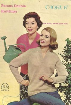Vintage Patons Double Knitting