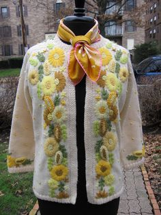 embroidery/embellishment ideas for sweater