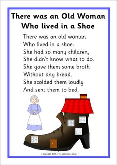 There Was an Old Woman Who Lived in a Shoe nursery rhyme craft with Fine motor skills. Description from pinterest.com. I searched for this on bing.com/images