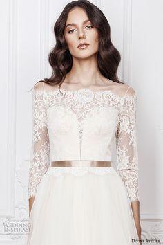 1343 best 3/4 sleeve wedding dresses. images on Pinterest | Alon ...