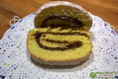 Rotolo alla nutella (nuova ricetta)- Kuokina. com -
