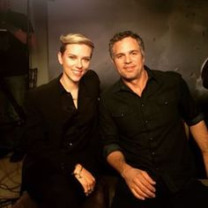 "For the last Avengers movie Scarlett Johansson complained that her co-star Robert Downey Jr. got ""the existential questions and I get the rabbit food questions?"" when sexist questions were asked about her body. 