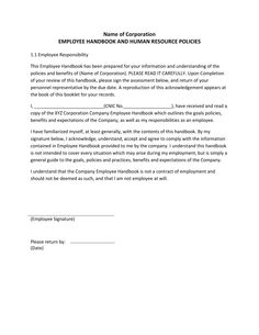 Form 9 employee training contract agreement template for Human resource manual template