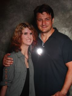Very late on this but here is my photo op from Toronto Fan Expo 2014 with the one and only, Nathan Fillion!! My 2nd year in a row meeting him and just as good as the last. Maybe a bit better since he called me sweetie!! He's such a nice guy! Love him!!