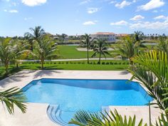 Private Pool Surrounded by the Private Golf Course. Only on Ocean Drive.. www.tylerpyne.com
