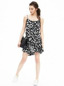 Print Ruffle Dress