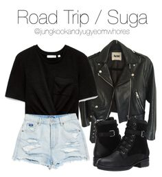 casual date outfit Korean Fashion Kpop Inspired Outfits, Bts Inspired Outfits, Kpop Fashion Outfits, Themed Outfits, Korean Outfits, Grunge Outfits, Outfits For Teens, Trendy Outfits, Girl Outfits