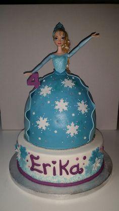 Torta elsa frozen cake