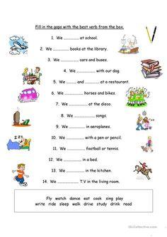 English Grammar For Kids, Basic Grammar, English Worksheets For Kids, English Lessons For Kids, Grammar Lessons, Pronoun Worksheets, 2nd Grade Worksheets, Kindergarten Worksheets, Writing Worksheets