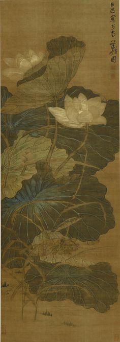 Chen Hongshou 1598-1652 LOTUS