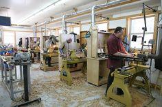 John C. Campbell Folk School Woodturning Studio | folkschool.org