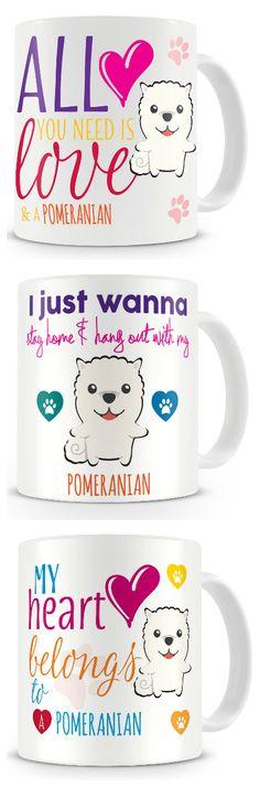 Pomeranian Ceramic Coffee Mug