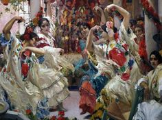 Joaquin Sorolla - you can see this piece along with other original pieces of Sorolla at the Hispanic Society in New York City. Spanish Painters, Spanish Artists, New Artists, Great Artists, Outdoor Nativity Sets, Madrid, Beautiful Paintings, Art Forms, Painting & Drawing