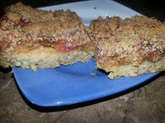 Jáhlový koláč s rebarborou | Pro Alergiky