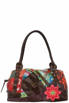 Desigual Women's Tokyo-Seduccio bag. Bag with short handles, several pockets and zip fastening. Dimensions: 34x23x17cm.