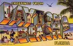 Daytona Beach, Florida - my birthplace
