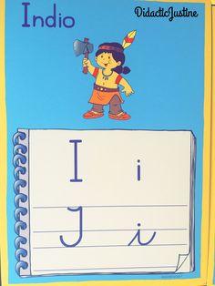 """Vocal """"i"""" en sus cuatro formas."""