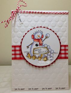 Snowballs 10 cents...image from Ladybug Crafts Ink