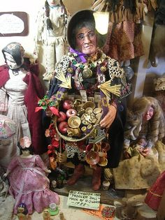 """""""Old English Peddler Doll"""" by TravelPod blogger andreatravels from the entry """"High Altitude"""" on Wednesday, April 13, 2011 in Santa Fe, United States"""