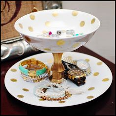 $3.00 Jewelry / Jewellery Holder or maybe a small bird feeder/ waterer :)