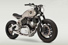 Odmieniona Yamaha Virago XV920 w wersji custom | motovoyager.net