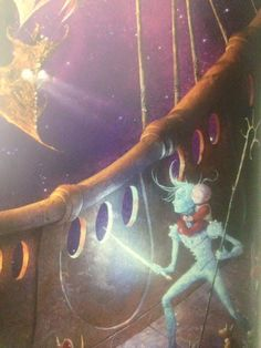 Nightlight protected MiM from Pitch and Pitch's goons of Nightmare Pirates in The Guardians of Childhood illustration William Joyce, Guardians Of Childhood, My Legacy, Space Pirate, Rise Of The Guardians, The Big Four, Norse Mythology, Httyd, My Character