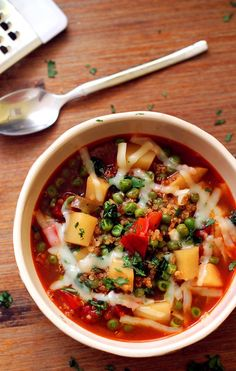 healthy quinoa and vegetable stew
