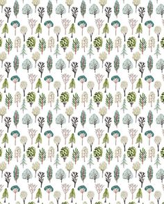 Can't get enough of this eye-catching  pattern by @boccaccinimeadows. #Greenery