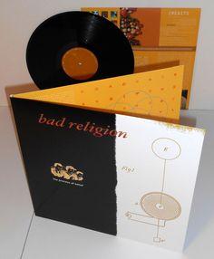 BAD RELIGION process of belief LP Record Vinyl #punk