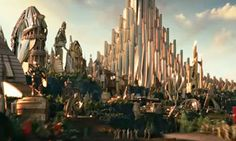 THOUGHTS ON ARCHITECTURE AND URBANISM: The origins of the City of Asgard