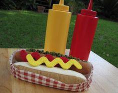 Hey, I found this really awesome Etsy listing at https://www.etsy.com/listing/154979786/felt-food-hot-dog-bun