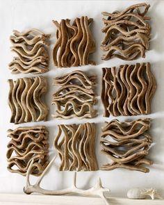 Driftwood/wood branch art