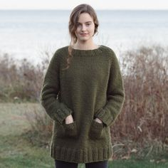 Great Falls sweater by Pam Allen, Quince & Co.