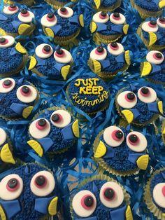 Cupcakes de ... ...? Ah sí! De Dory