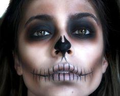 Shadow Skeleton Makeup