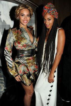 Beyonce and little sister Solange